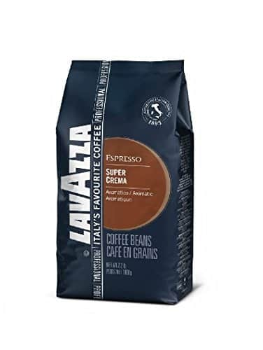 Lavazza Super Crema Espresso - Whole Bean Coffee, 2.2-Pound Bag (Packaging May Vary) Amazon $15.94 with Subscribe and Save 5%