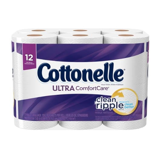 Amazon: Add-on Item - Cottonelle Ultra ComfortCare Big Roll Toilet Paper 12 Count $3.99