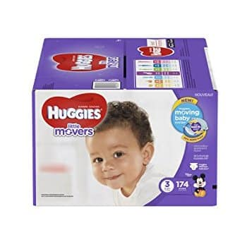 174-Ct Huggies Little Movers Diapers (Size 3) $23.36 w/ S&S + Free S&H