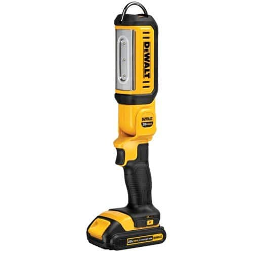 DEWALT (DCL050) 20V MAX LED Work Light, Hand Held, Tool Only $40.53 + FS @Amazon
