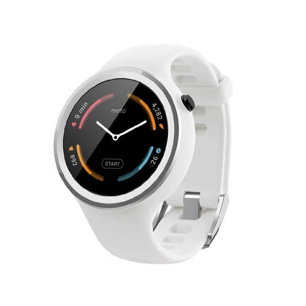 Moto 360 Sport White Only $137.99 + Free Prime Shipping