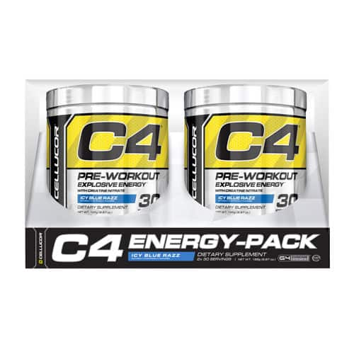 Cellucor C4 Pre-Workout, 2-pack 30-servings $29.99 at Costco