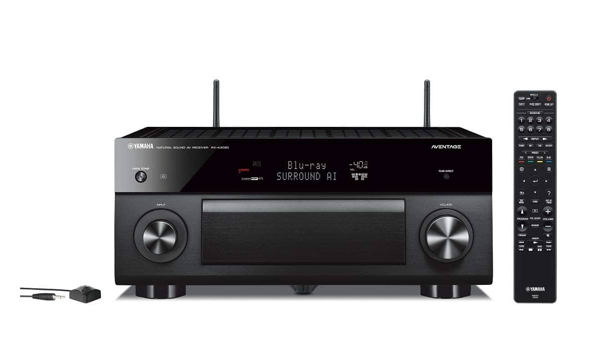 Yamaha AVENTAGE RX-A3080 9.2-Channel Network A/V Receiver w/MusicCast [Receiver] $1499
