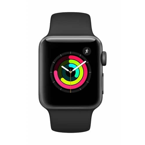 Apple Watch Series 3 (GPS, 38mm) - Space Gray USED Good | starting at  $133.62 + tax | Amazon warehouse Deal 20% off |