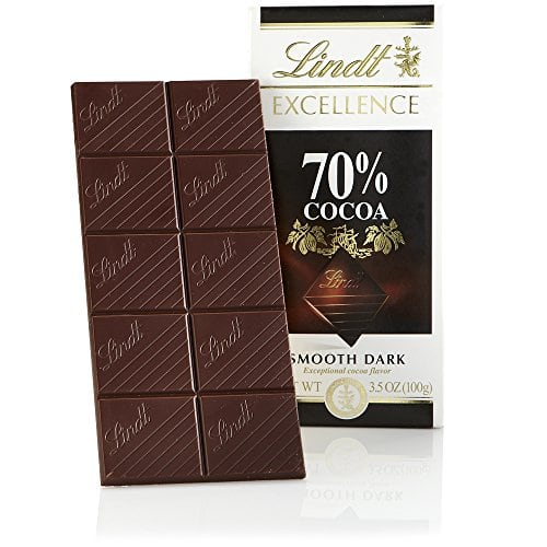 [YMMV] Lindt Excellence Bar, 70% n 85% Cocoa Smooth Dark Chocolate, Gluten Free, 3.5 Ounce (Pack of 12)  $14.95