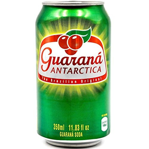 Guaraná ANTARCTICA, Guaraná Flavoured Soft Drink, Made from Amazon Rainforest Fruit, Imported from Brazil, 350ml, (Pack of 12) $10.44