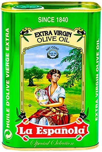La ESPANOLA Extra Virgin Olive Oil in Tin from Spain $8.89 with S&S