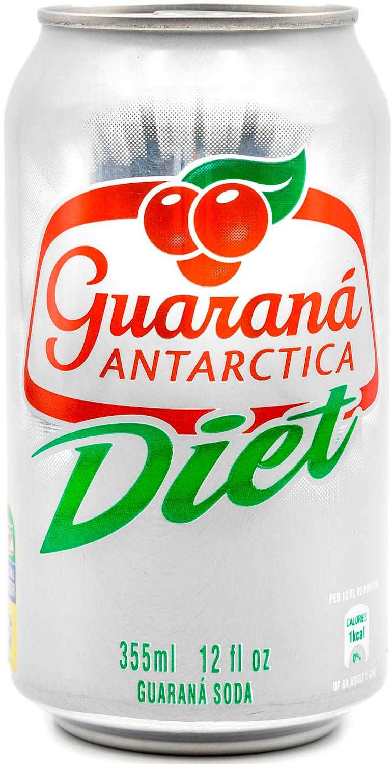 Diet Guarana Antarctica Brazilian Soda 12 Pack for $6.99