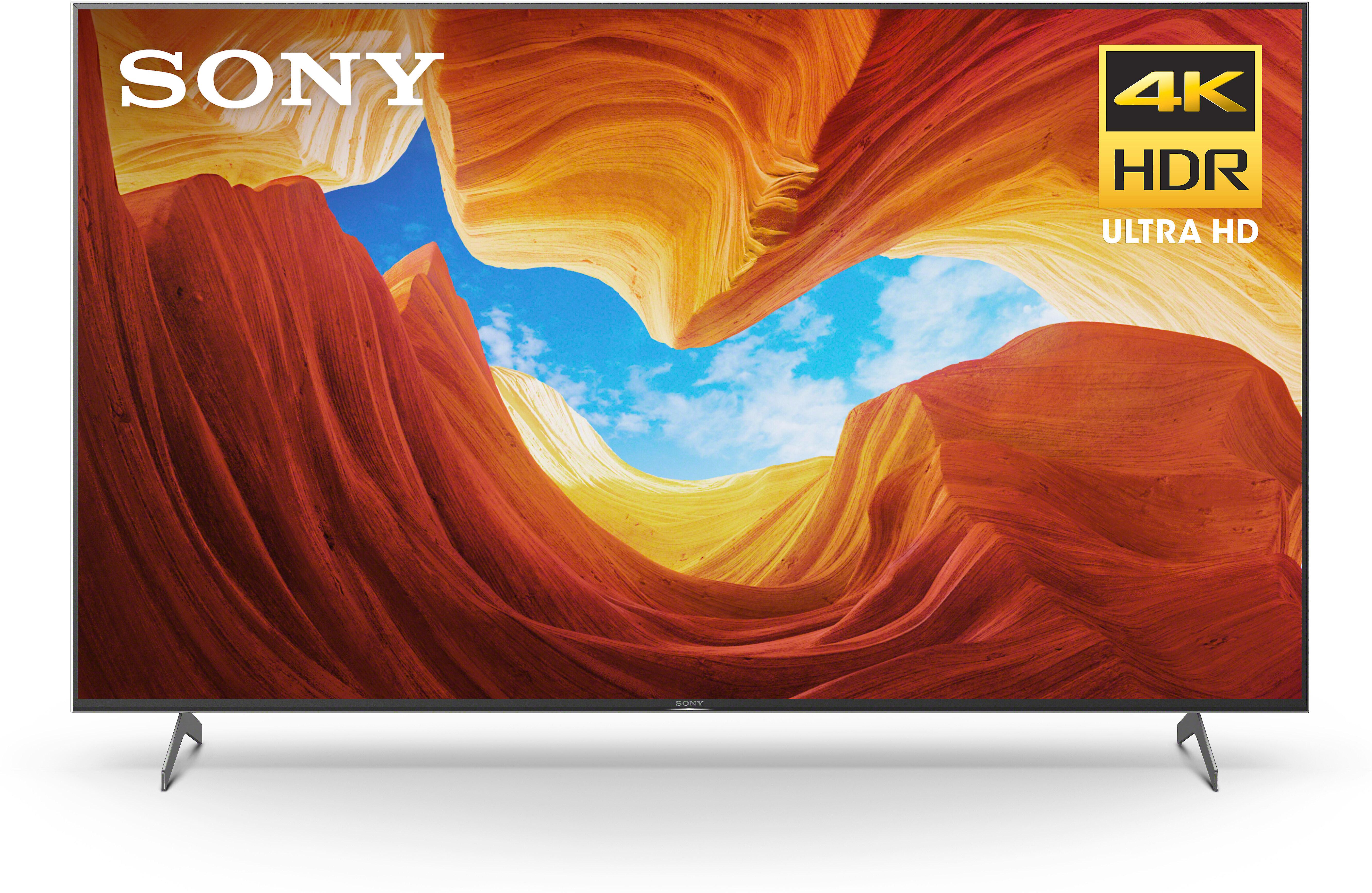 "Sony XBR-75X900H 75""; X900H Smart LED 4K UHD TV with HDR (2020) - $1598 at Crutchfield"