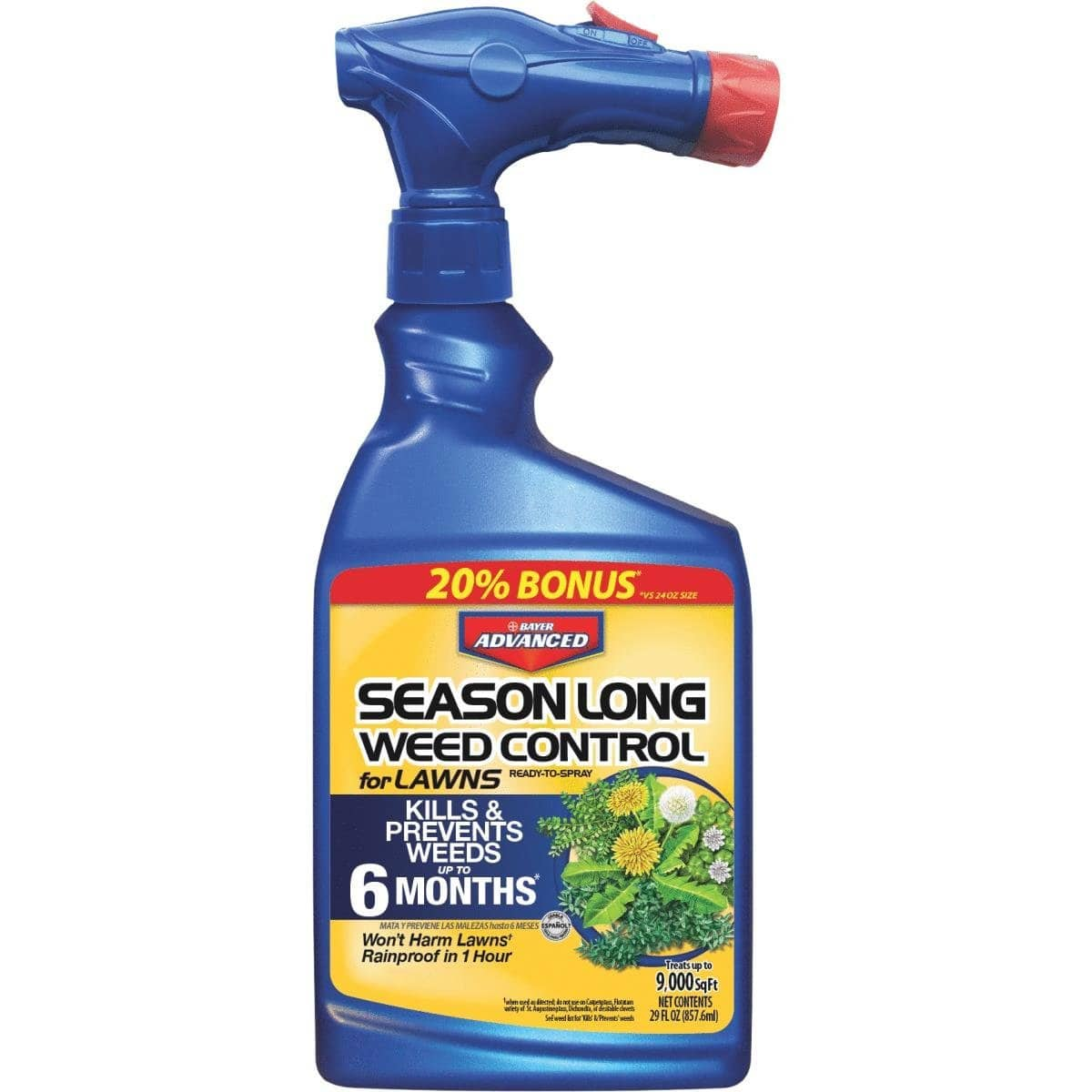 24 oz. Ready-to-Spray Season Long Weed Control for Lawn $2.48 after rebate @ homedepot