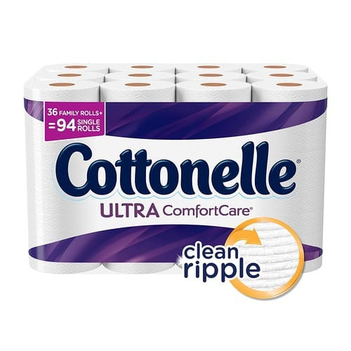 Cottonelle Ultra ComfortCare Family Roll Plus Toilet Paper, 36 Rolls - Amazon $17.99 ($15.29 S+S)