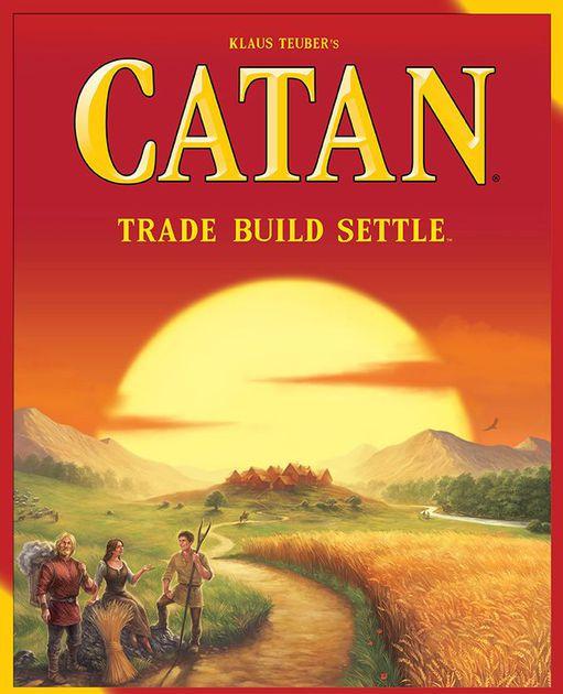 Catan games (and Catan Junior) on Sale! - Catan 5th edition board game $27.35 + PRIME