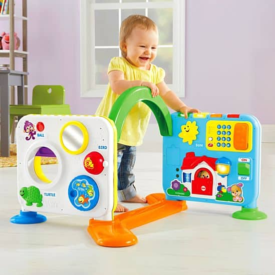 Fisher Price Laugh & Learn Crawl (Sit and Walk) Around Learning Center Toy for Babies and Toddlers $29.99 + free ship to store