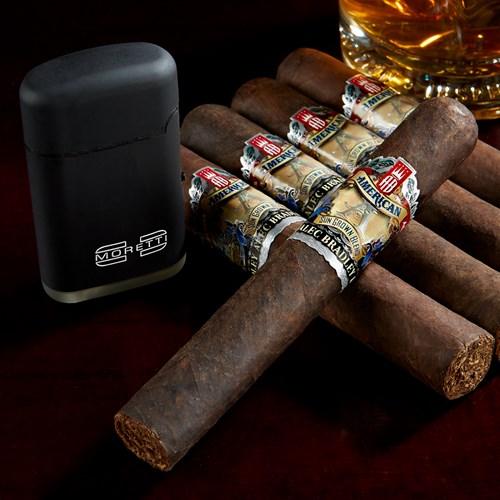 Five Alec Bradley Cigars  + Moretti Butane Torch = $12.98 shipped