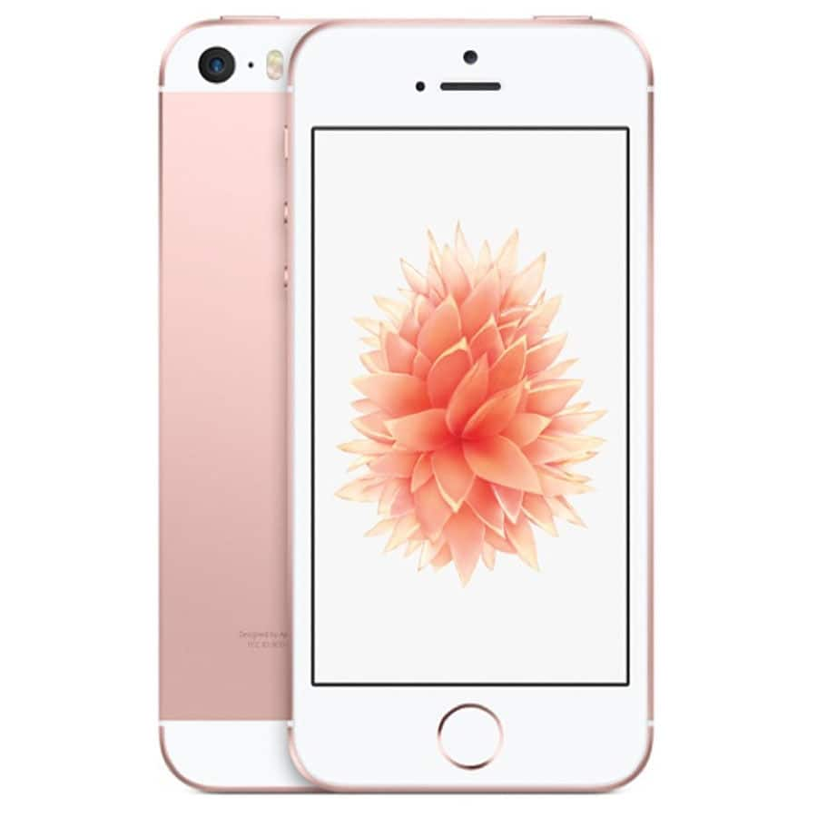$330+FS - Used Grade A+ - Apple iPhone SE (Latest Model) - 16GB - Rose Gold AT&T Smartphone