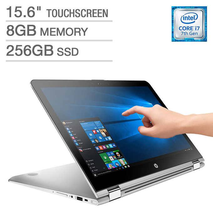 "$699 - HP ENVY x360 15.6"" Touchscreen 2-in-1 Laptop - Intel Core i7/8GB/256GB SSD - 1080p"