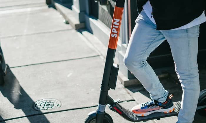 Free - Spin Electric scooter rides $8 credit