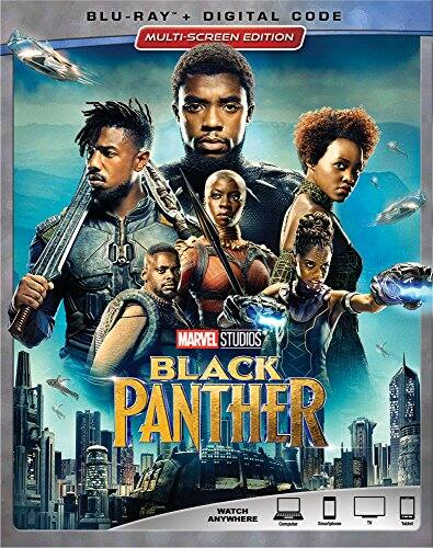 Black Panther Blu-ray + Digital - $17 at Amazon