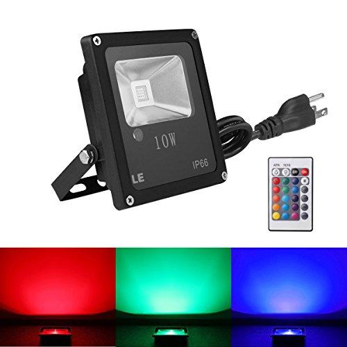 LE 10W RGB LED Flood Lights