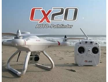 Cheerson CX20 CX-20 Open-source Version Auto-Pathfinder Quadcopter RTF ($159.99) US stock (Banggood)