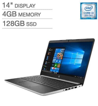 "HP 14"" Laptop - Intel Core i3 - 1080p Costco YMMV $225"