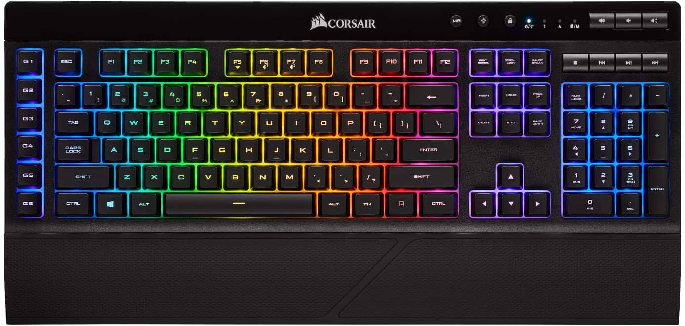 CORSAIR K57 RGB Wireless Gaming Keyboard $77.94 - F/S (Prime) & Free Returns