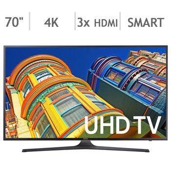 """Samsung UN70KU630DFXZA 70"""" TV $1650 + Tax @ Costco AC"""
