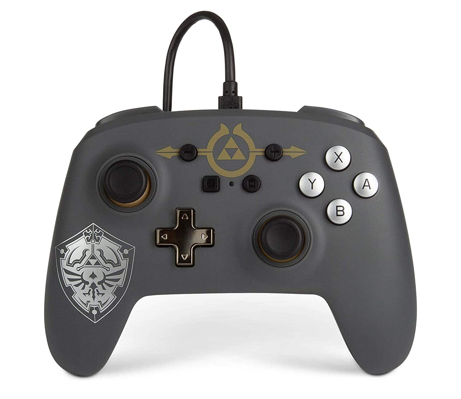PowerA Enhanced Wired Controller for Nintendo Switch - Hylian Shield $14.99