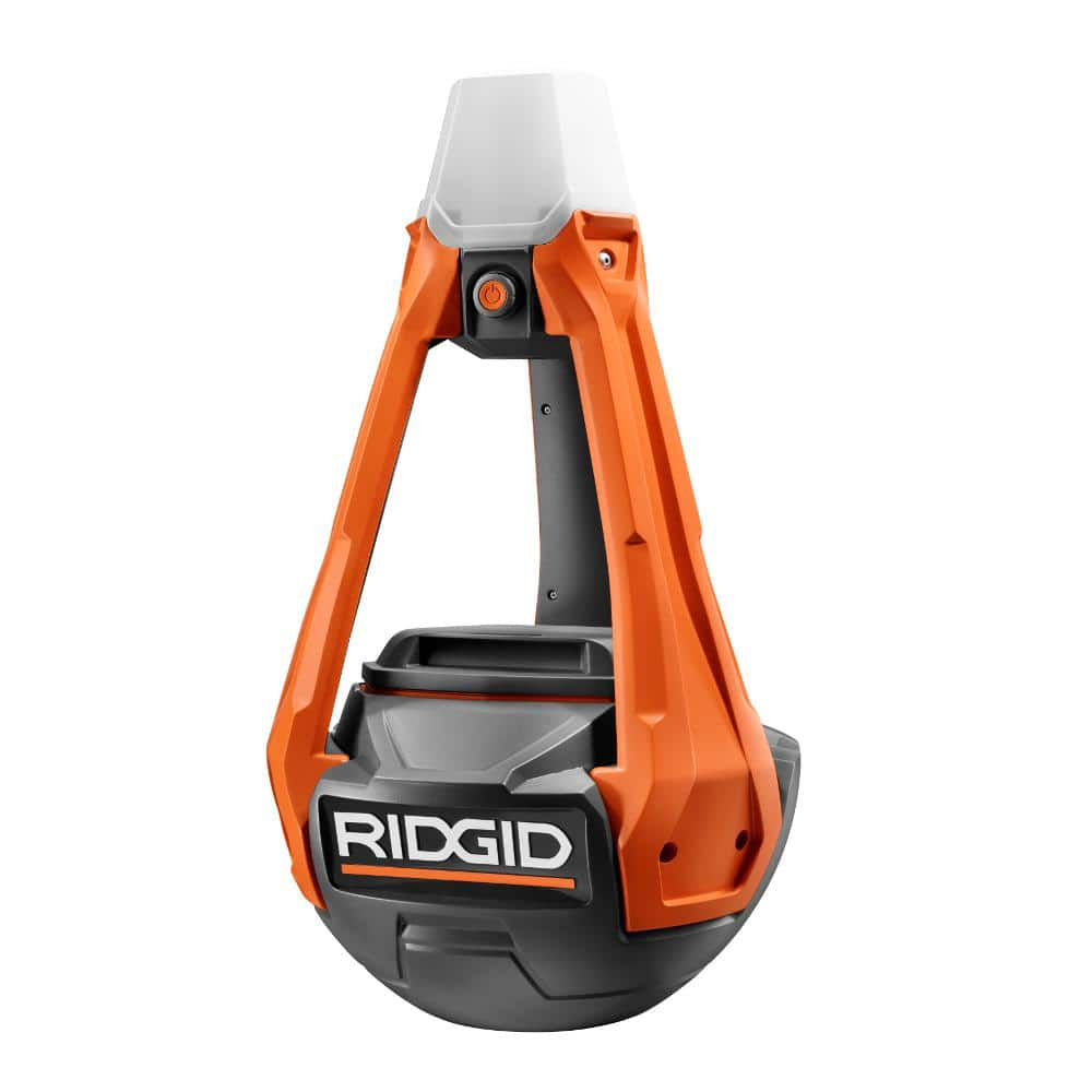 Ridgid LED Hybrid Standing Light ,18V or Plug-er-In, and its Dimmable, Tool Only - 50% off at Home Depot $49