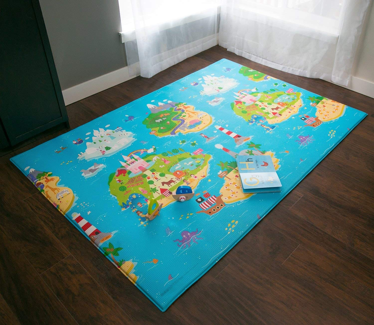 Baby Care Play Mat - Magical Islands (Large) $99 95