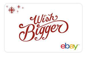$200 eBay Gift Card - $195 - Email delivery