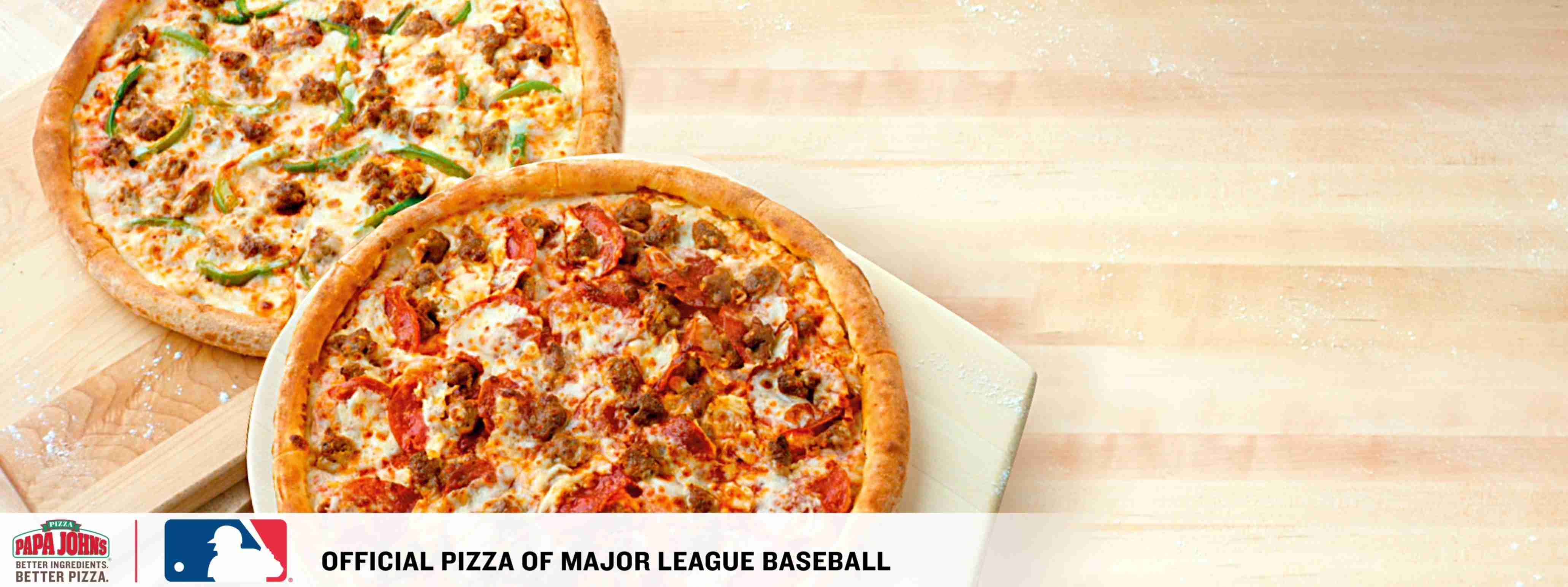 Papa Johns: Any Large Pizza up to 5 Toppings OR Specialty - $9.99, 40% off Regular menu price online orders and more (YMMV)