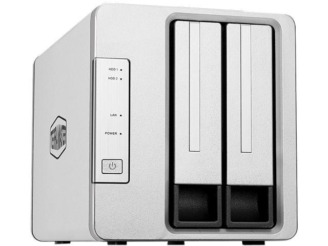 TerraMaster F2-210 2-Bay NAS Media Server Personal Cloud - $119.99