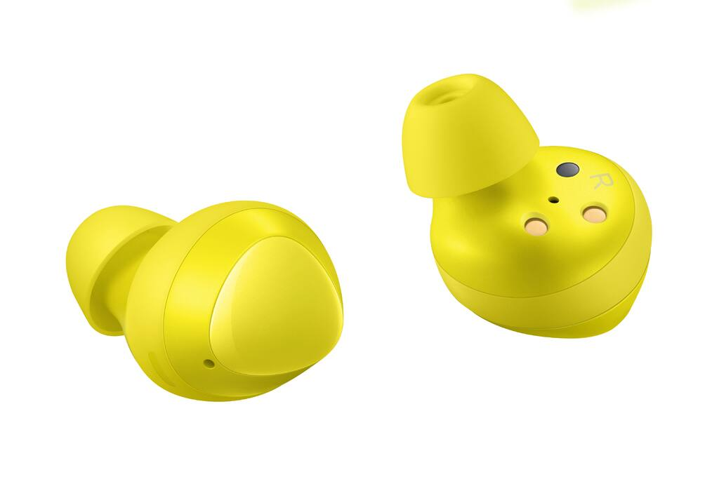 SAMSUNG Galaxy Buds, Yellow (Charging Case Included) - $49
