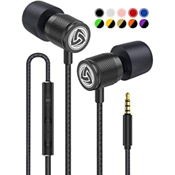 Wired Earbuds - LUDOS Ultra in Ear Headphones with Microphone for only $7.18+FS