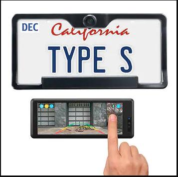"Costco - Type S 6.8"" Wide Screen Solar Powered HD Wireless Backup Camera $130 + FS"
