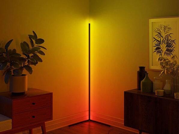 Lamp Depot Minimalist LED Corner Floor Lamp $72