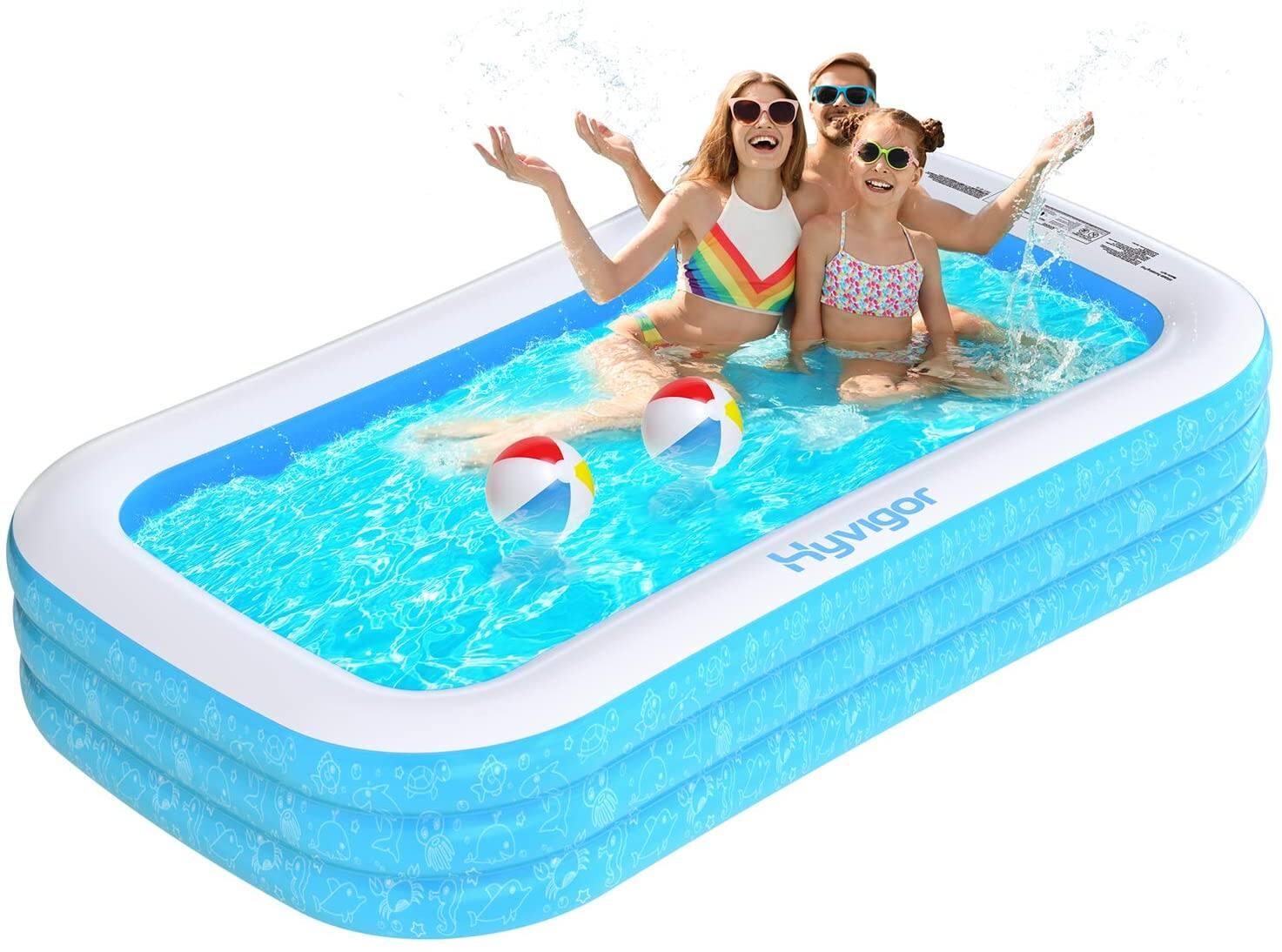 Globmall US via Amazon: Hyvigor Inflatable Swimming Pool $45.49 + Free Shipping