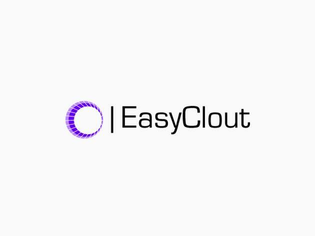 EasyClout Social Media Management for Businesses: 1-Year Subscription $16