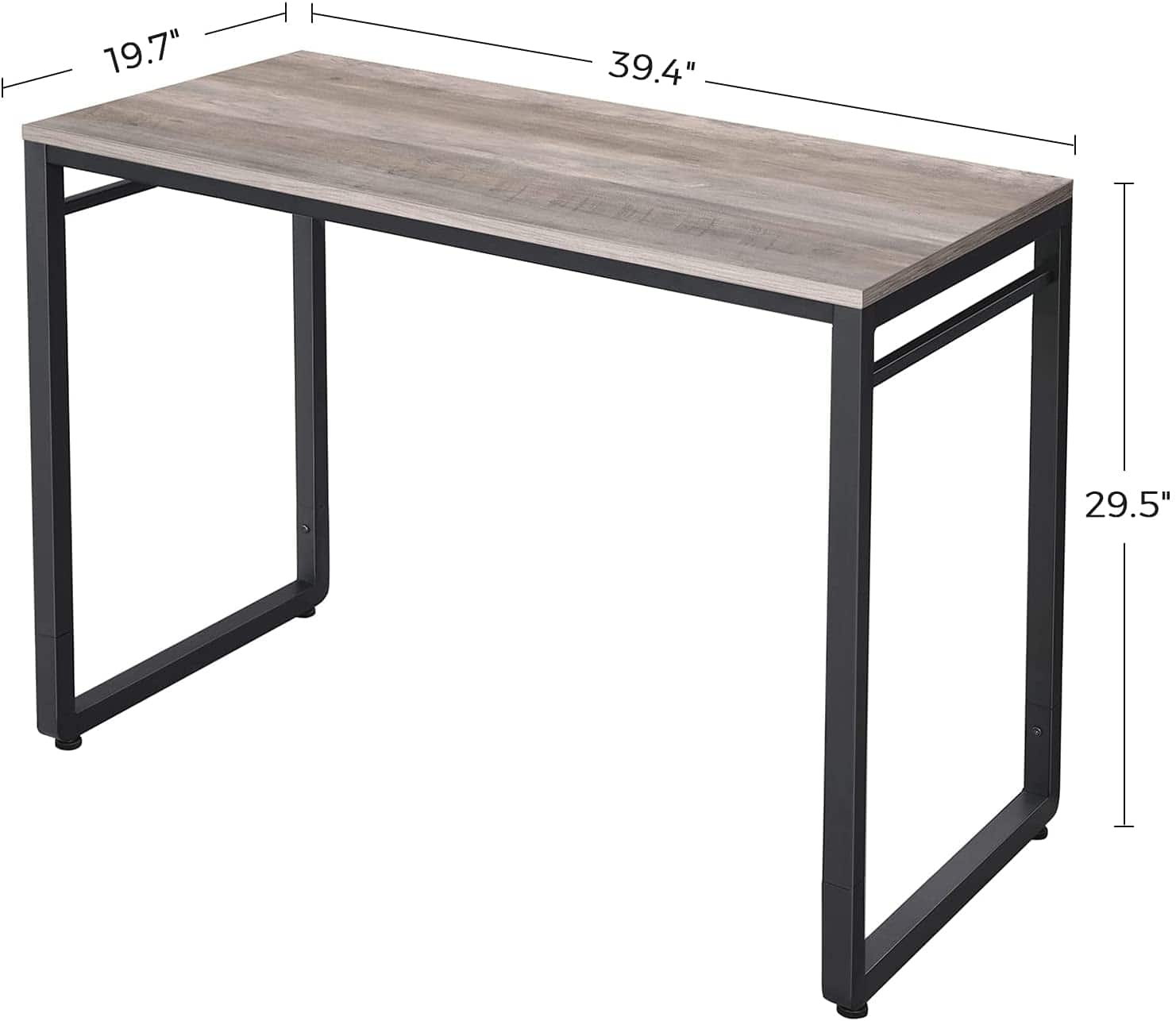 Industrial Style Computer Desk: 39-inch for $32.65, 47-inch for $47.59, 55-inch for $66.87 + Free Shipping