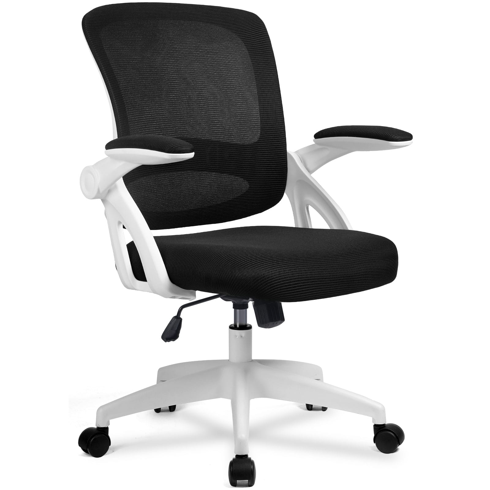 ComHoma Mesh Ergonomic Office Desk Chair with Flip Up Armrests, Lumbar Support $60.49 + Free Shipping