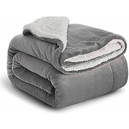 Sherpa Fleece Blanket Plush Throw from $11.99 to $29.99 + Free Shipping w/ Amazon Prime or Orders $25+