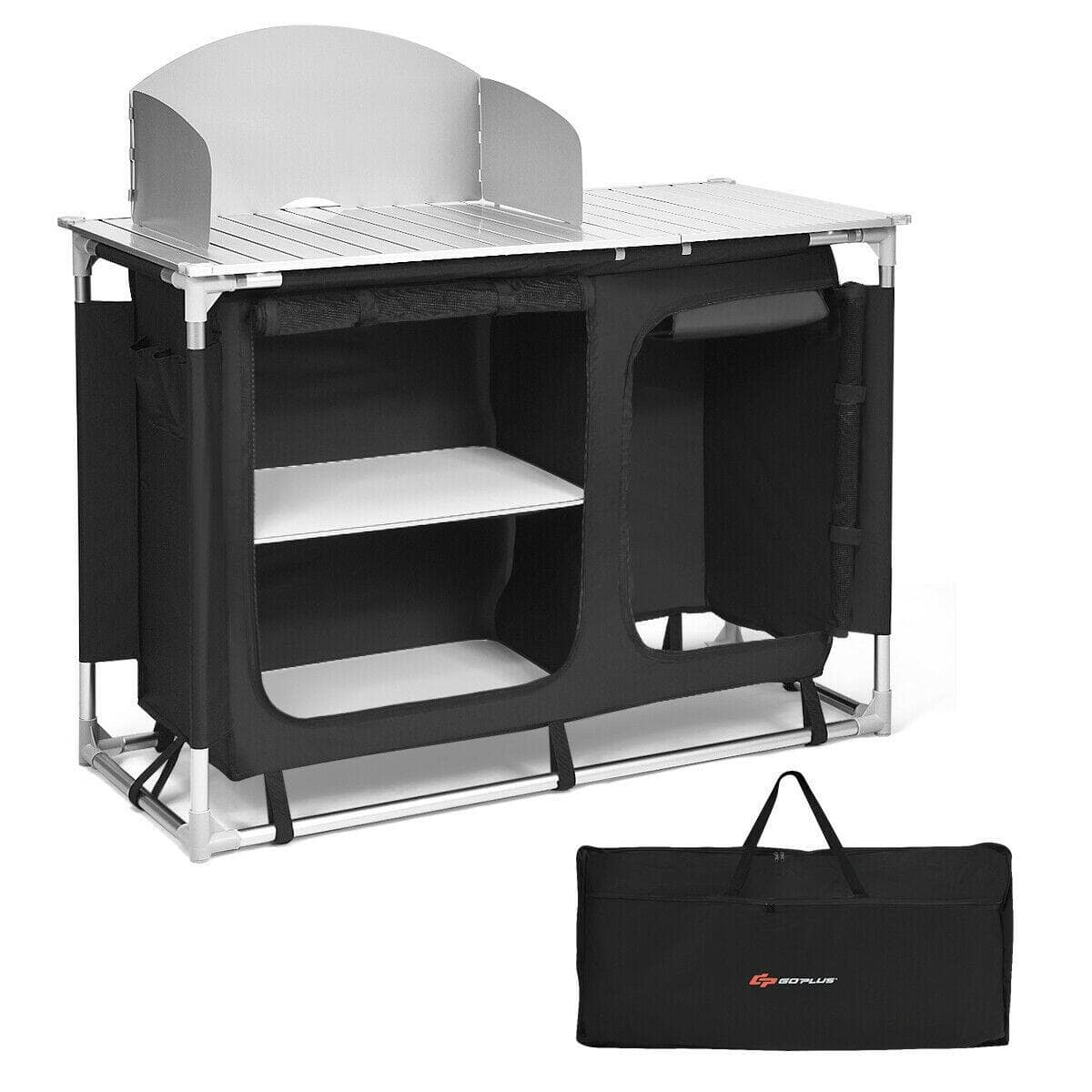 Costway Portable Camp Kitchen and Sink Table - $95.95 + Free Shipping