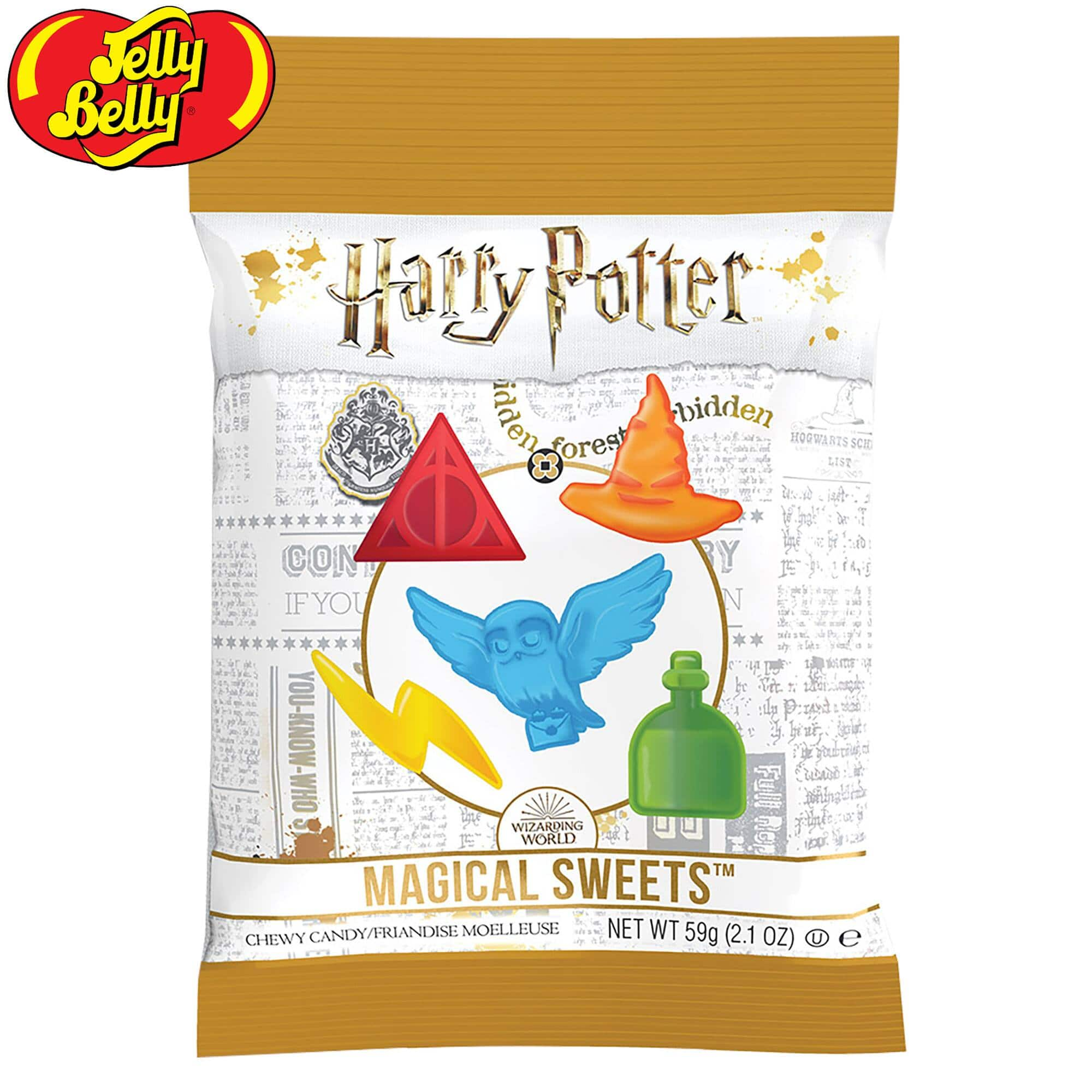 12-Pack: Jelly Belly Harry Potter Magical Sweets Chewy Gummies - $14 + Free Shipping