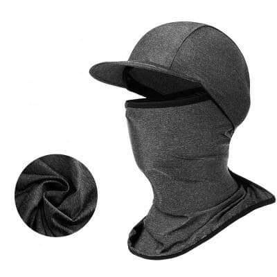 Sun Protection Cap with Neck Face Cover for Outdoor/Workout, Ice Silk Touch Breathable Fabric, $7.99 + Free Shipping