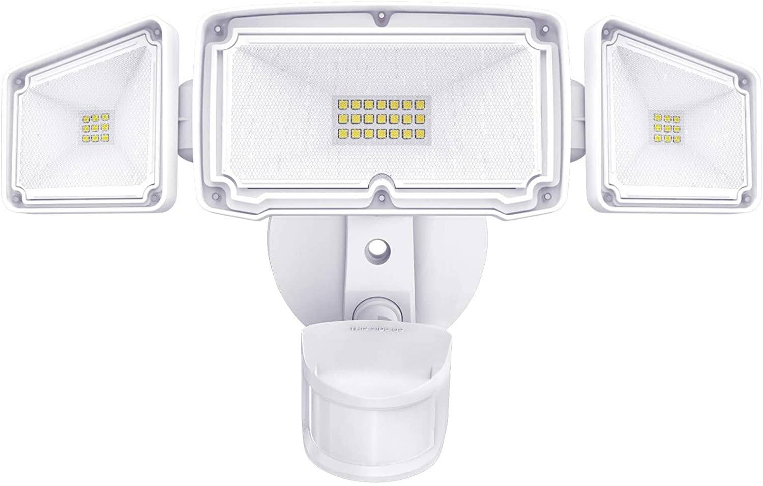 3 Head LED Security Lights Motion Outdoor $26.42+ Free Shipping