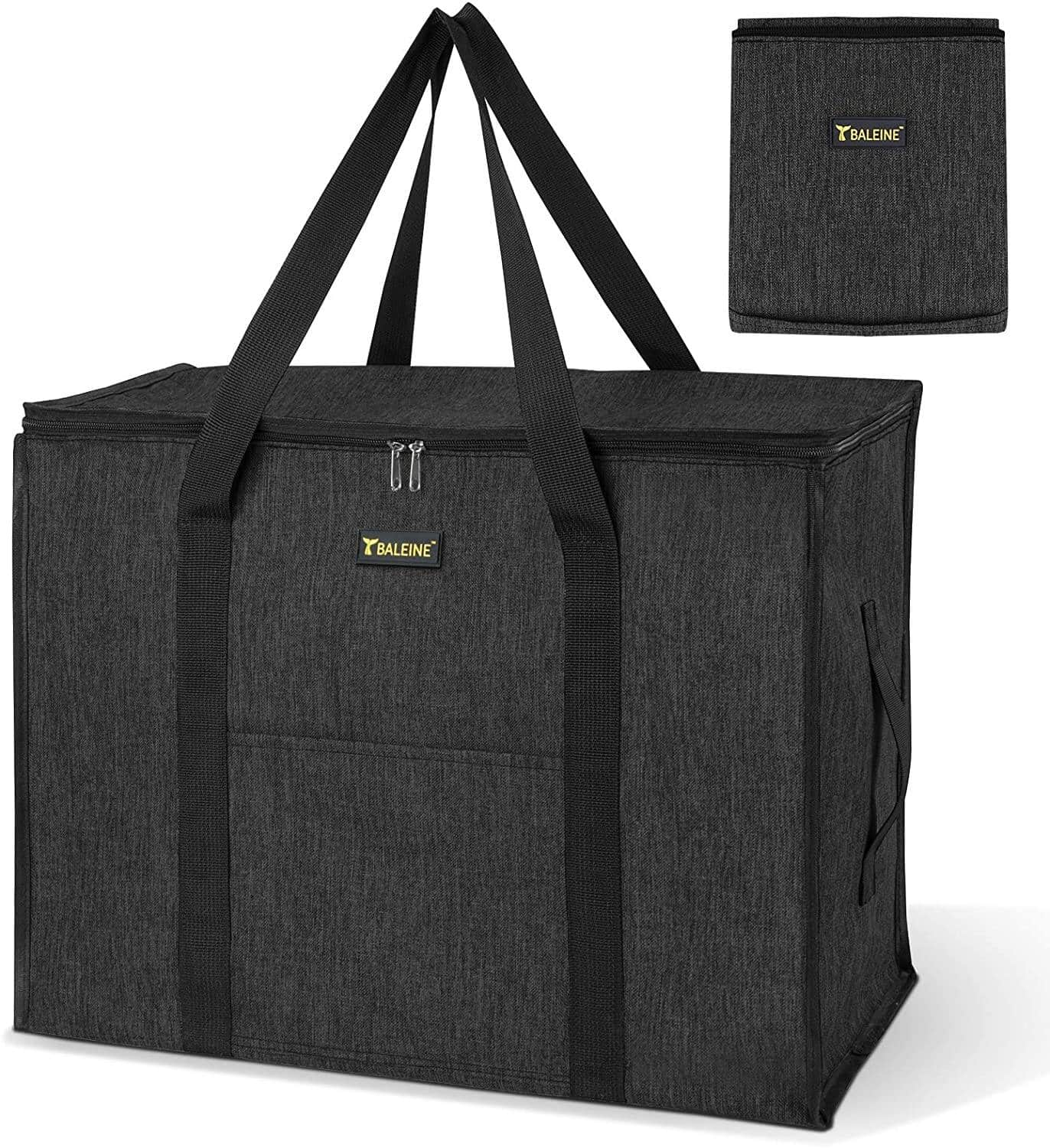 Storage Tote with Zippers & Carrying Handles $13.99 + Free Shipping w/ Amazon Prime or Orders $25+
