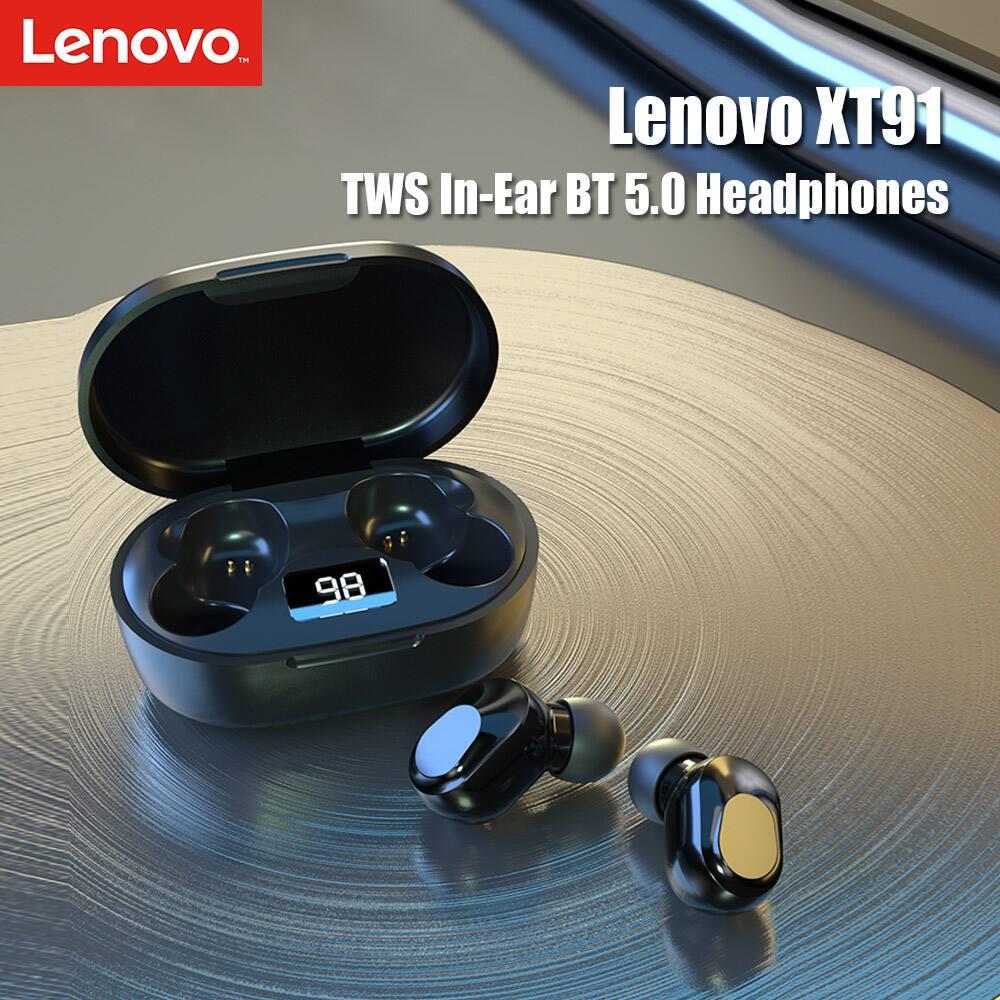 Lenovo XT91 True Wireless Earbuds $16.99 + Free Shipping
