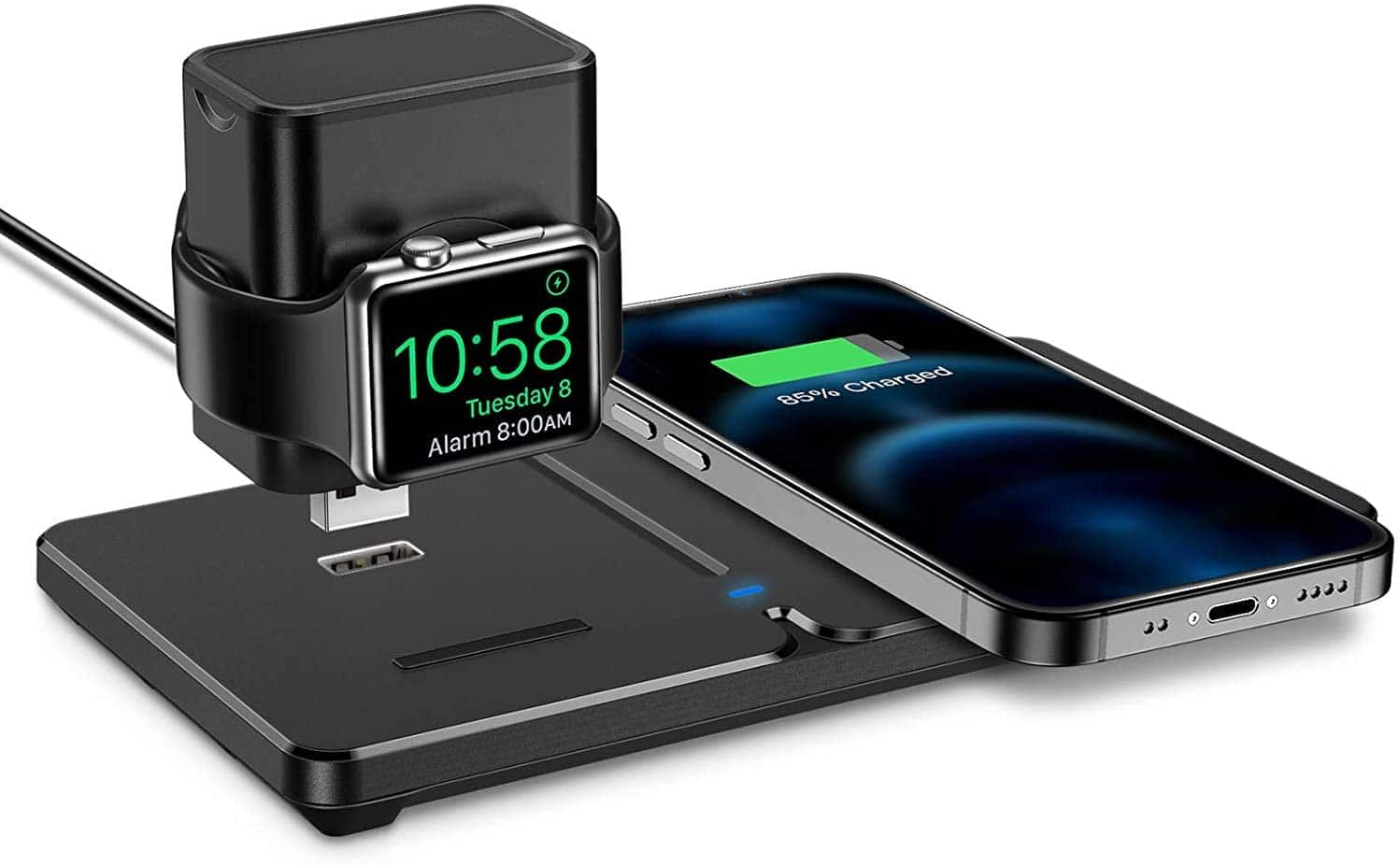 ESR 2-in-1 Detachable Wireless Charging Station for Apple Watch and iPhone $11.99, and More + Free Shipping w/ Amazon Prime or Orders $25+