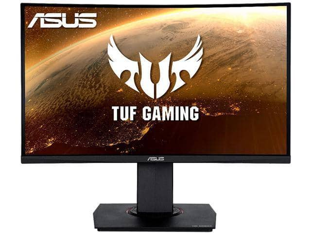 """ASUS TUF Gaming VG24VQ [24"""", 1920 x 1080, 1ms MPRT, 144Hz, VA Panel] Curved Gaming Monitor for $169.99 + F/S"""